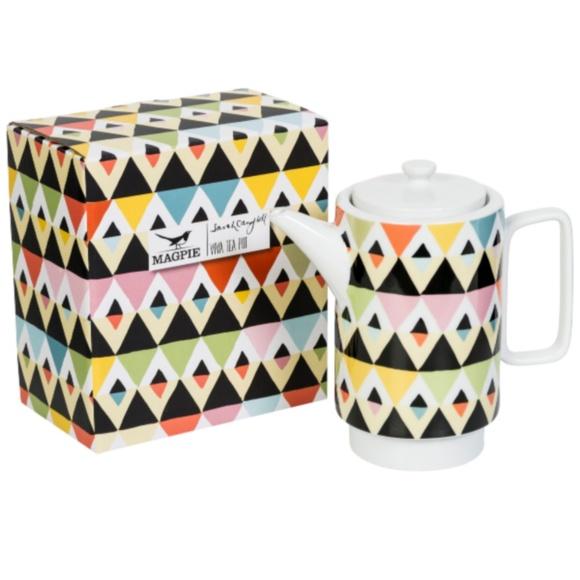 Magpie & Jay Other - Viva Tea Pot